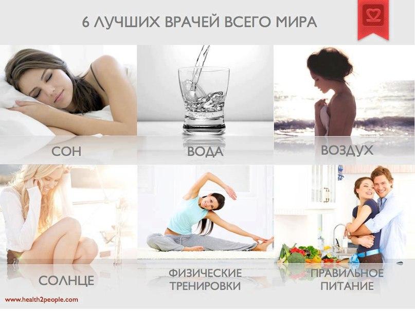 Здоровый образ жизни вода